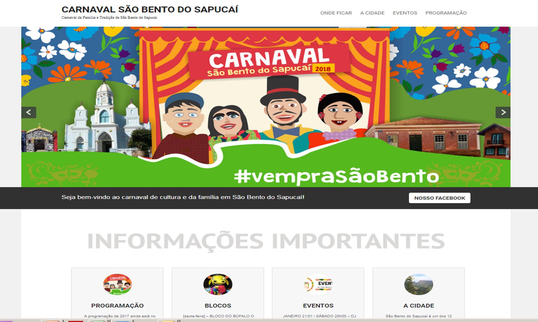 Carnaval São Bento do Sapucaí