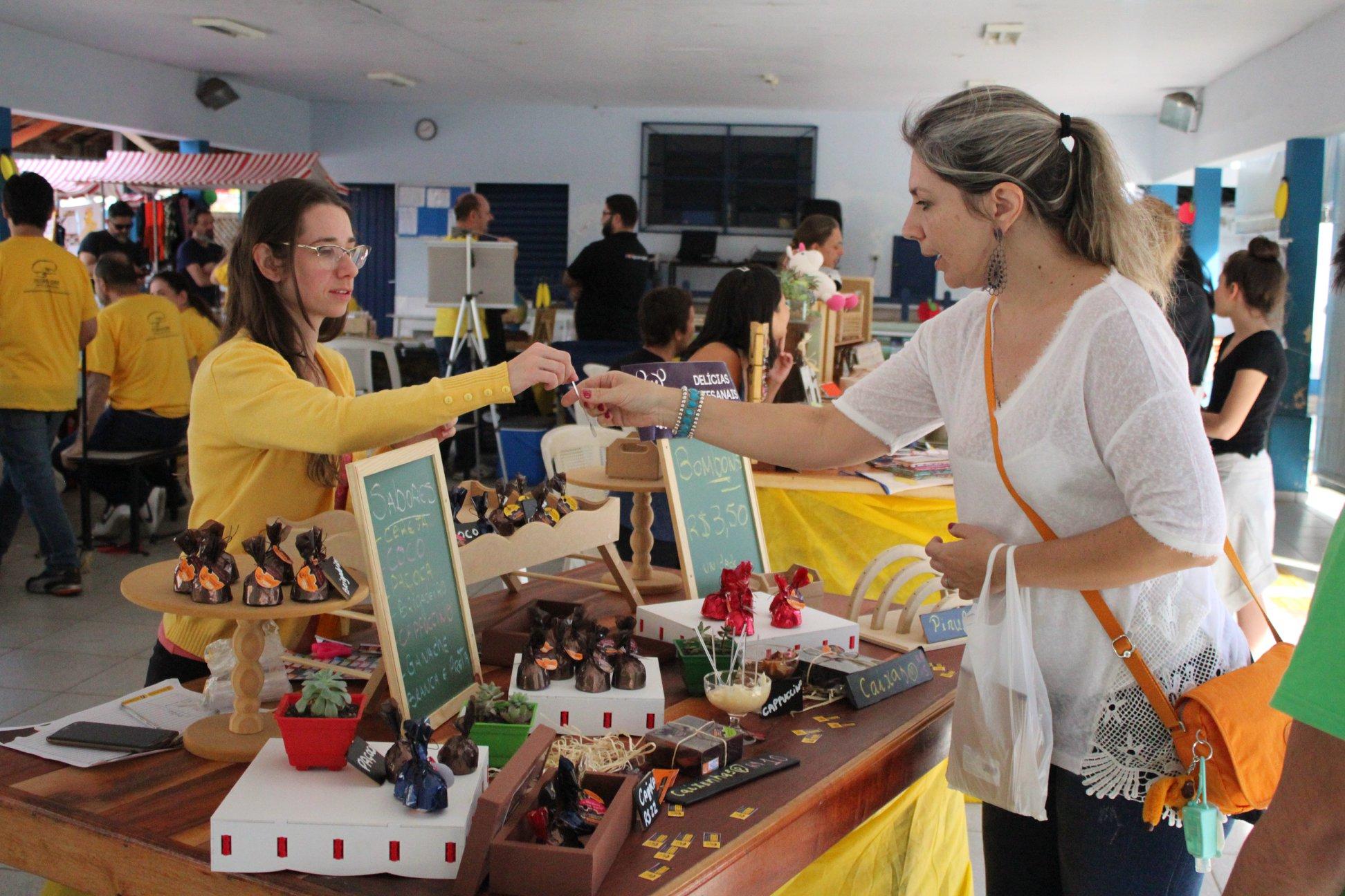 SOS Mimos participa de evento para produtores artesanais